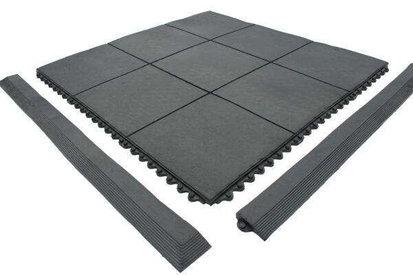 Solid Top Mat with female edging